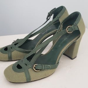 Etienne Aigner Shoes - Green Etienne Aigner shoes size 7